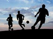 Soccer Training (Sky) poster
