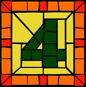 4 - Mosaic number