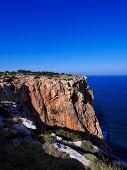 pic of mola  - Cliffs of La Mola  - JPG