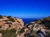 foto of mola  - Cliffs of La Mola  - JPG