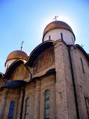 Sun on Dormition Cathedral