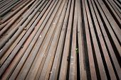 Railway Line Parts Background.