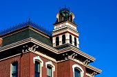 picture of bric-a-brac  - Cupola on historic building in old town St - JPG