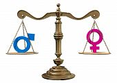 Gender Equality Balancing Scale