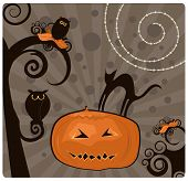 Halloween Design Element