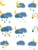 Weather Night Icon poster