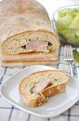 Filled Bread with tenderloin