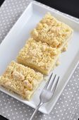 Cheesecake Streusel Bars