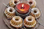 Small Gugelhupf Cake for Christmas