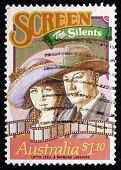 Postage Stamp Australia 1989 Lottie Lyell And Raymond Longford