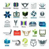 Biggest Collection Of Vector Icons Books And Pens