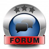 internet forum internet icon or button website www logon login and subscribe to participate in discussion