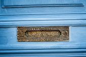 Vintage French Letterbox