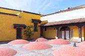 Tequila Distillery Courtyard