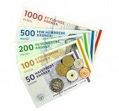 Danish kroner ( DKK ), coins and banknotes