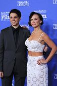 SANTA BARBARA - FEB 4: Ralph Macchio, Karina Smirnoff at the 29th Santa Barbara International Film F