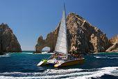 Catamaran At Los Arcos