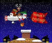 Santa gift drop