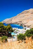 Village On The Shore Of Lybian Sea