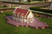 Phutthamonthon In Mini Siam Park