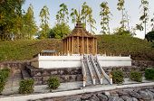 Wat Phra Phutthabat In Mini Siam Park