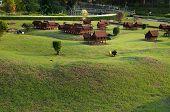 Thai House In Mini Siam Park