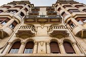 Beautiful Modernist Facade In Bilbao