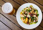 Salpicon De Marisco / Shellfish Salad.