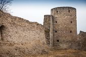Ruined Koporye Fortress In Historic Village. Leningrad Oblast, Russia