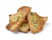 Spicy Garlic And Parsley Crackers