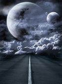 Road To Surreal Galaxy