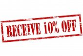Receive Ten Percent Off