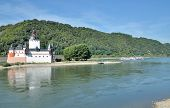 Pfalzgrafenstein,Rhine River,Germany