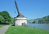 Wine Crane,Rhine River,Andernach,Germany