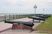Old Cannons In Fortifications