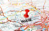 Wien ,austria Map
