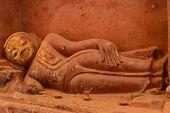 Lying Buddha Statue, Myanmar