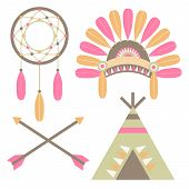 American Indian Set