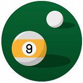 Pool Billiard Balls Illustration