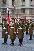 Changing of the Guard at La Moneda