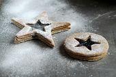 image of shortbread  - shortbread stars  - JPG