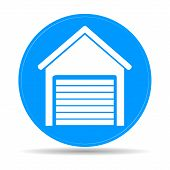 pic of outhouses  - Garage icon - JPG