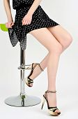 picture of stilettos  - Hot tempting legs - JPG