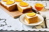 Orange And Pumpkin Cake