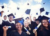 image of graduation  - Celebration Education Graduation Student Success Learning Concept - JPG