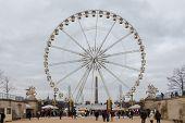 Paris. Ferris Wheel.