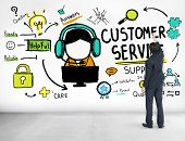 Customer Service Support Assistance Service Help Guide Concept