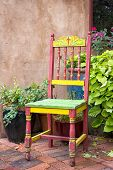Colorful Antique Chair