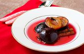 Poached Plums