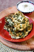 Spinach And Ricotta Cakes